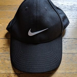 Black Nike Cloth Cap